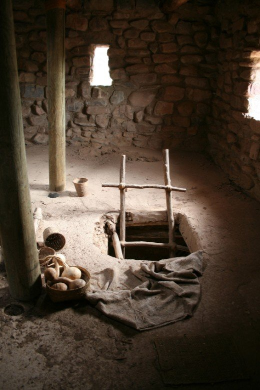 Indigenous Mexican adobe home