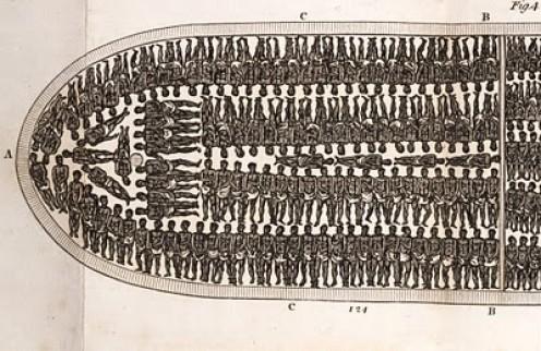 """Slaves """"Packed In Below Deck"""""""