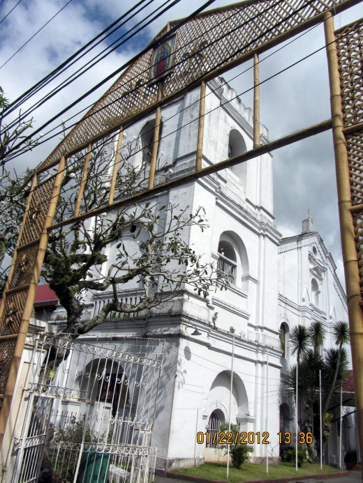 A quick picture of the Pagsanjan Church