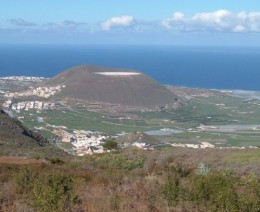 Another view looking down from Tierra del Trigo