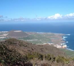View along coast