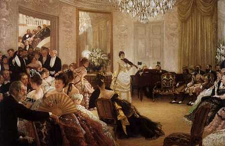 The Victorian grand ball was a social gathering tightly controlled by society rules.