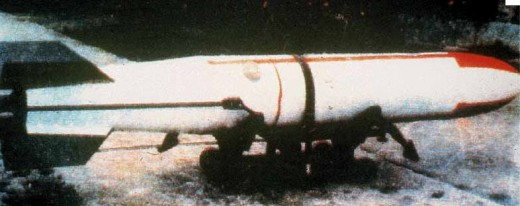 Iran has many of the Chinese rocket EM-52 mine