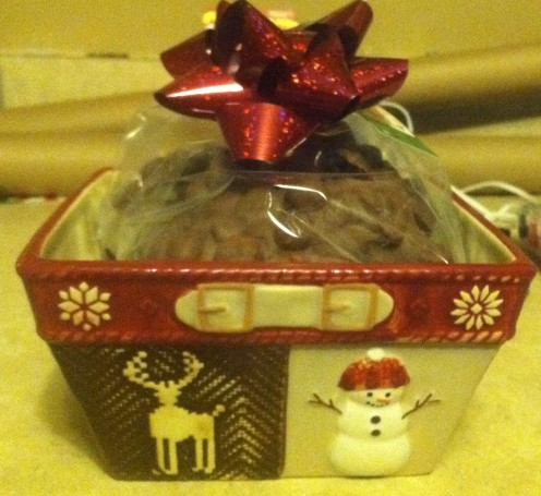 A cute candy dish of these makes a great holiday gift!