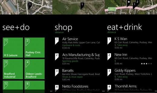 Scout Option Lumia Maps