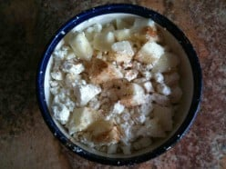 Cottage Cheese with Apples