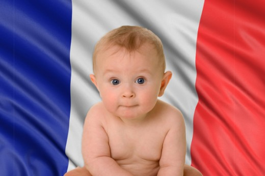 French with your bébé!