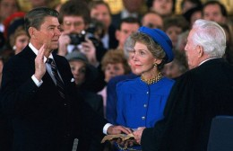Ronald Reagan's Second Presidential Inauguration