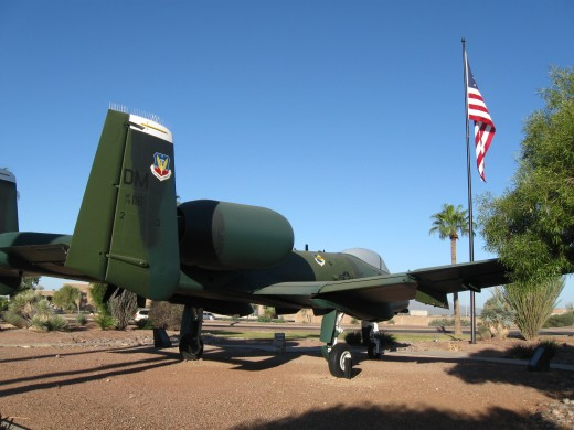 USAF A-10A Fighter jet