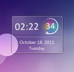 Windows 7 Desktop Calendar Gadget
