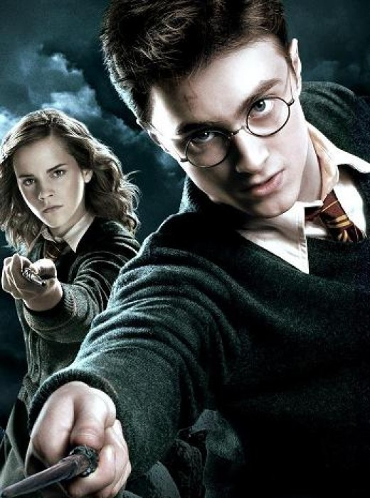 Harry Potter, with Suvudu Cagematch veteran Hermione Granger as backup.