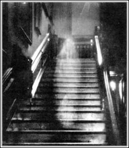 """One of the most famous ghost photos ever taken is the """"Brown Lady"""" ghost at Raynham Hall."""