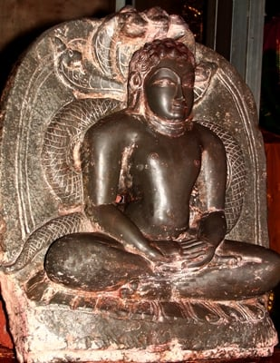 A rare idol of Teerthankar Suparsvanath found near Sangli of Maharashtra