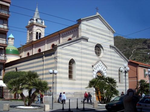 San Agostino parish church in Ventimiglia