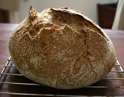 You will get crusty artisan loaves from this recipe for No-Knead Bread.