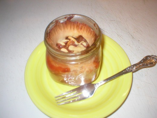 Pie in a Jar - Eat and enjoy!