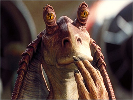 Me sir Jar Jar Binks.