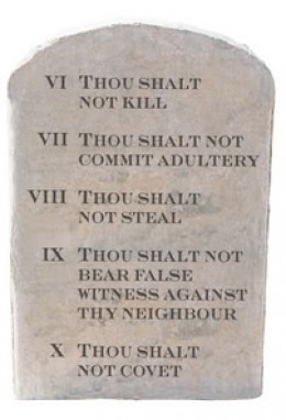 The Five Commandments