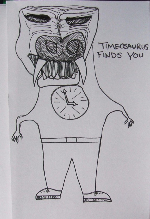 Timeosaurus finds you