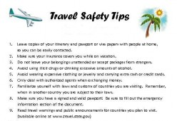 Travel Safety Tips For The Holidays