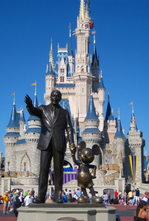 """I only hope that we never lose sight of one thing – that it was all started by a mouse."" - Walt Disney"