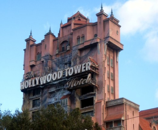 The Twilight Zone Tower of Terror is at Disney's California Adventure park, and at The Disney Hollywood Studios park in Florida.