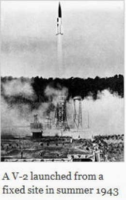 V-2 launch in 1943
