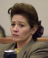 Clara Harris at trial