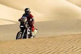 One of the Dakar 2012 stages was from Nazca to Paracas