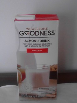 Milk substitute Product: Wholesome Goodness Almond Drink