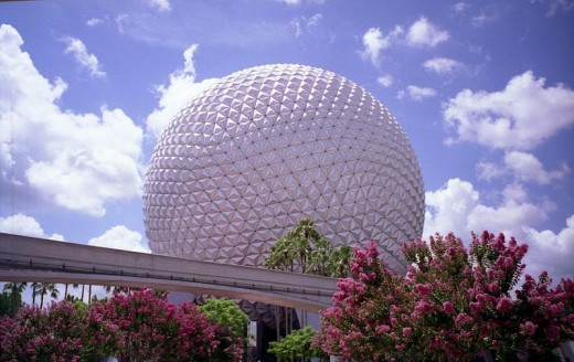 Spaceship Earth, one of Walt Disney World's most recognizable attractions.