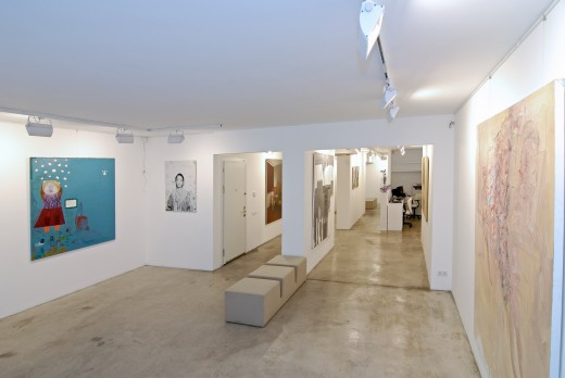 x-ist gallery in Istanbul is one of many that hosts monthly openings.