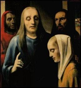 """Christ with the Adulteress"" by van Meegeren was found in the possession of Nazi Herman Goring"