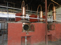 Pisco distillery in Elqui Region of Chile