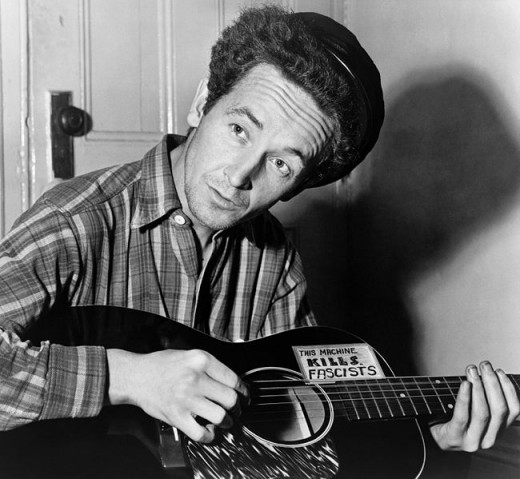 Woodie Guthrie in 1943