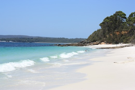 Would you rather be enjoying this beach somewhere in Australia or hunting up a power adaptor, cell phone or SIM card?