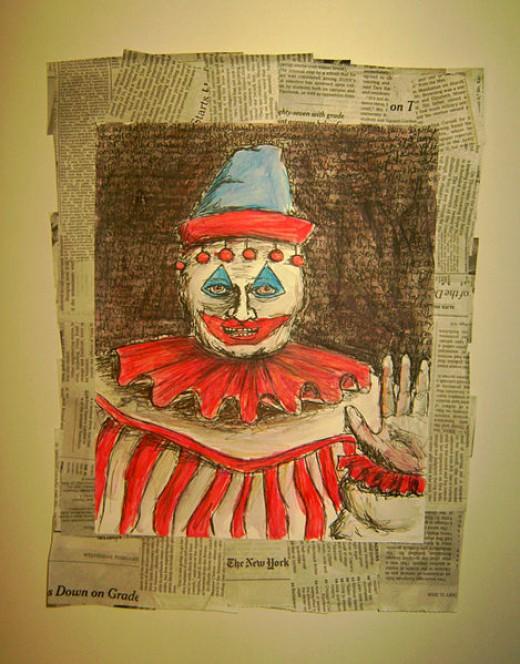 John Wayne Gacy's Artwork