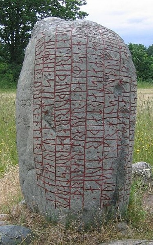 The Karlevi Runestone 10th Century. How some patterns would lately would keep our poetry intact.