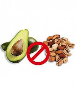You know this diet is not for you if you can't give up avocadoes and nuts.