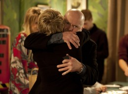 Phil returns home where Shirley welcomes him with open arms