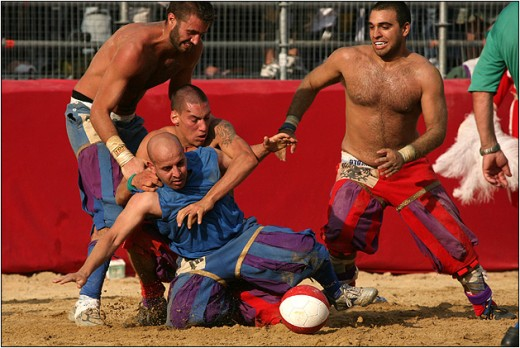 Crazy Football in Florence