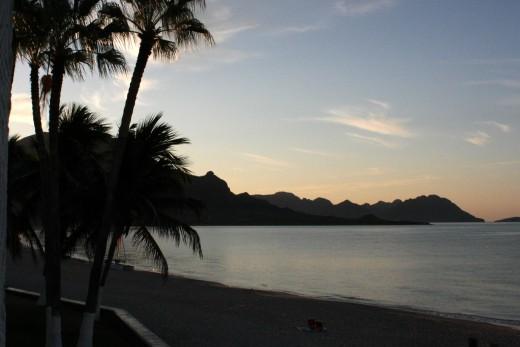 Pilar beach at sunrise