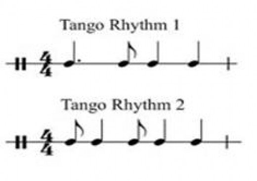 This is the classic beat of the Tango