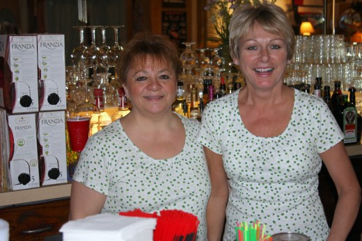 Patti, Ivanhoe Manager and Head Waitress, Tina
