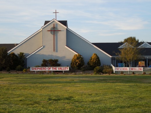 Shepherd of the Valley Lutheran Church, Los Olivos, California