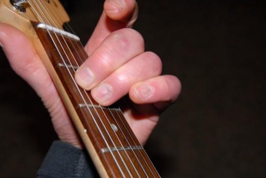E minor chord.