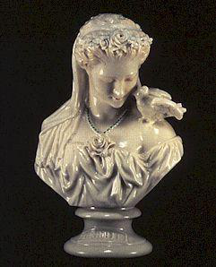 A bust of Servilia- Caesar's mistress and mother to Marcus Brutus- a man who plays a major role in Caesar's life.
