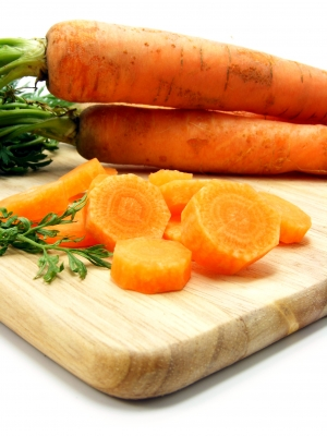 Carrots! Lots of Beta-Carotene