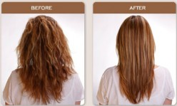 How I Did My Own Brazilian Keratin Straightening Treatment