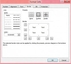 VBA: How to Apply and Change Excel Border Styles